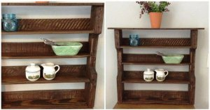 Pallet Decorative Wall Shelf