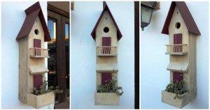 Reclaimed Pallet Birdhouse