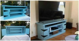 Wood Pallet TV Stand or Entertainment Center