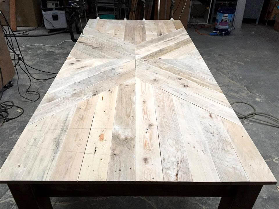 awesome pallet dining table