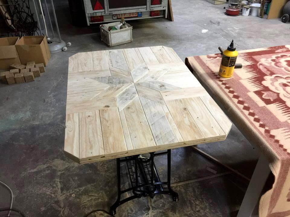cute pallet dining table