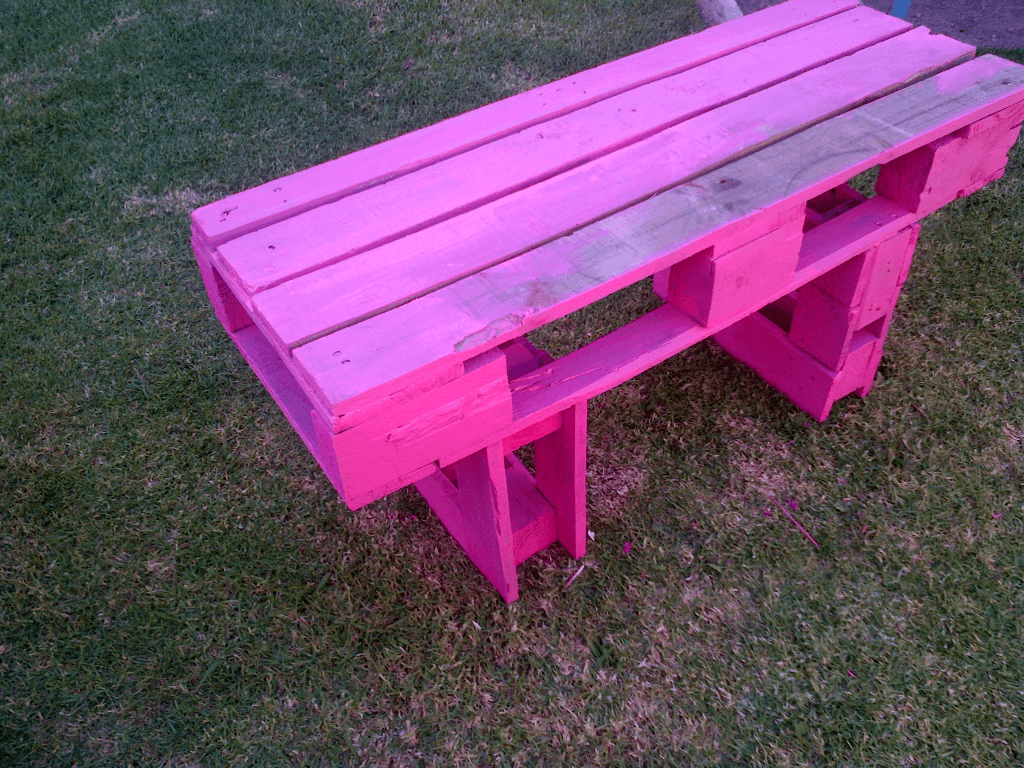 cute little bench for kids