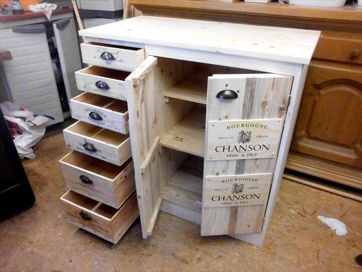 Diy Pallet Storage Chest