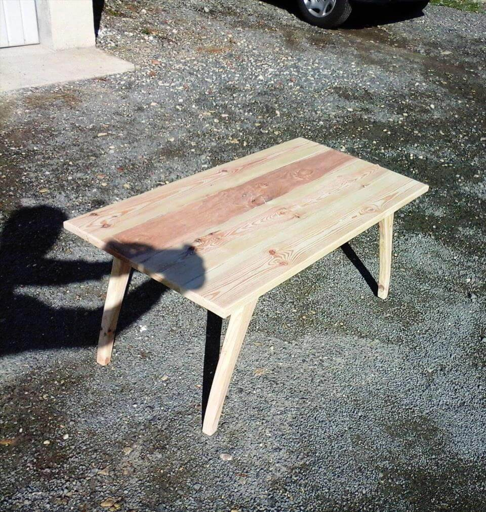 elegant style pallet coffee table
