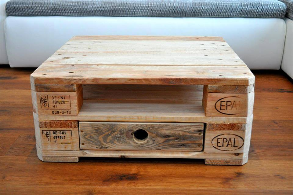 adorable pallet coffee table