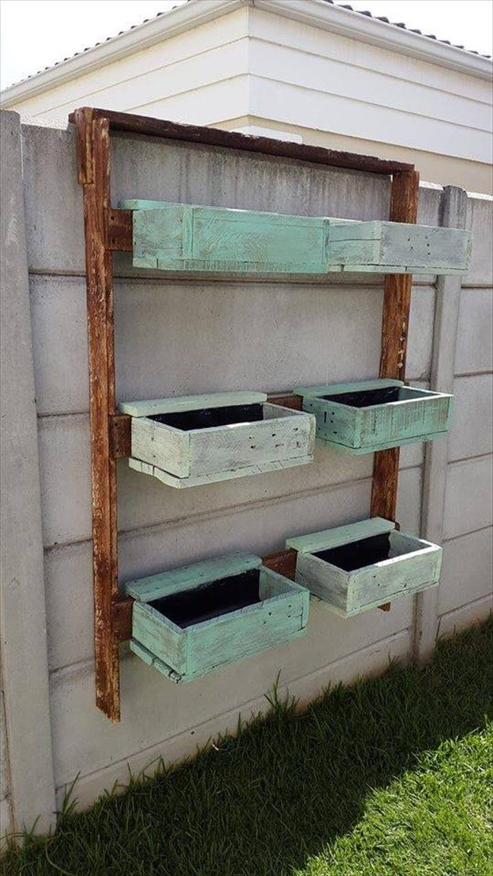 wall mounted planter boxes or shelves