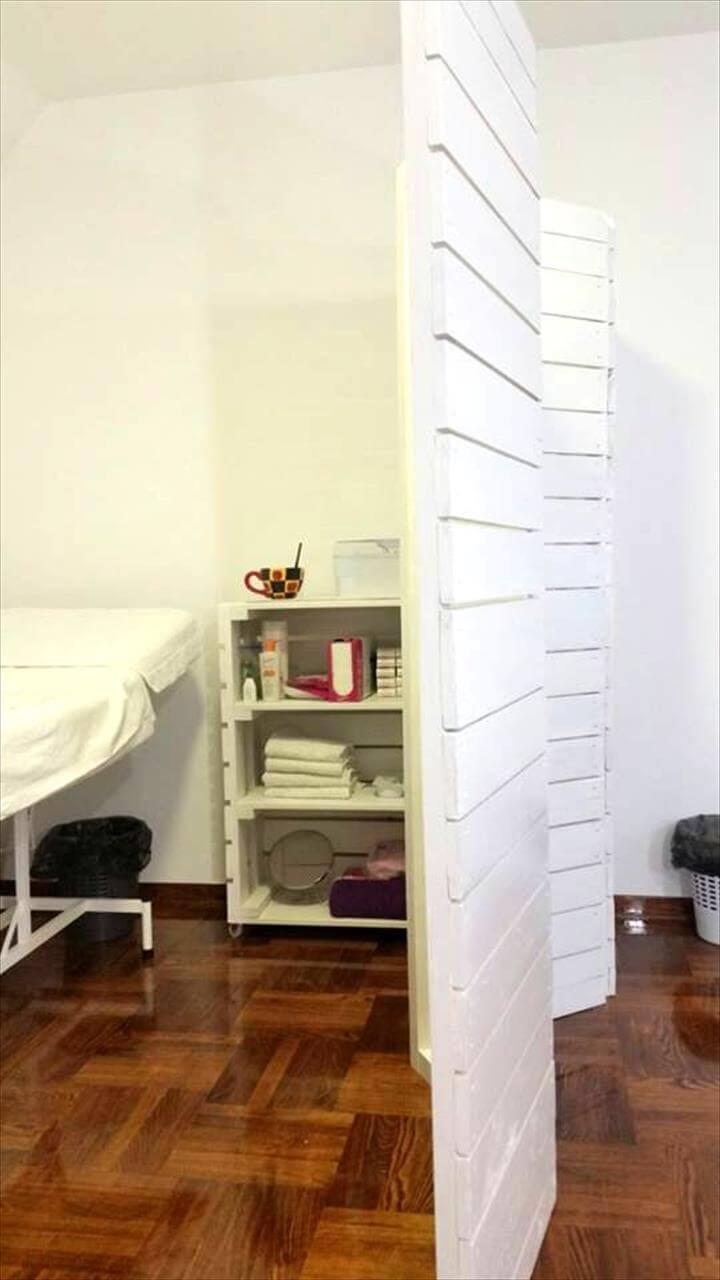 Pallet Room Divider