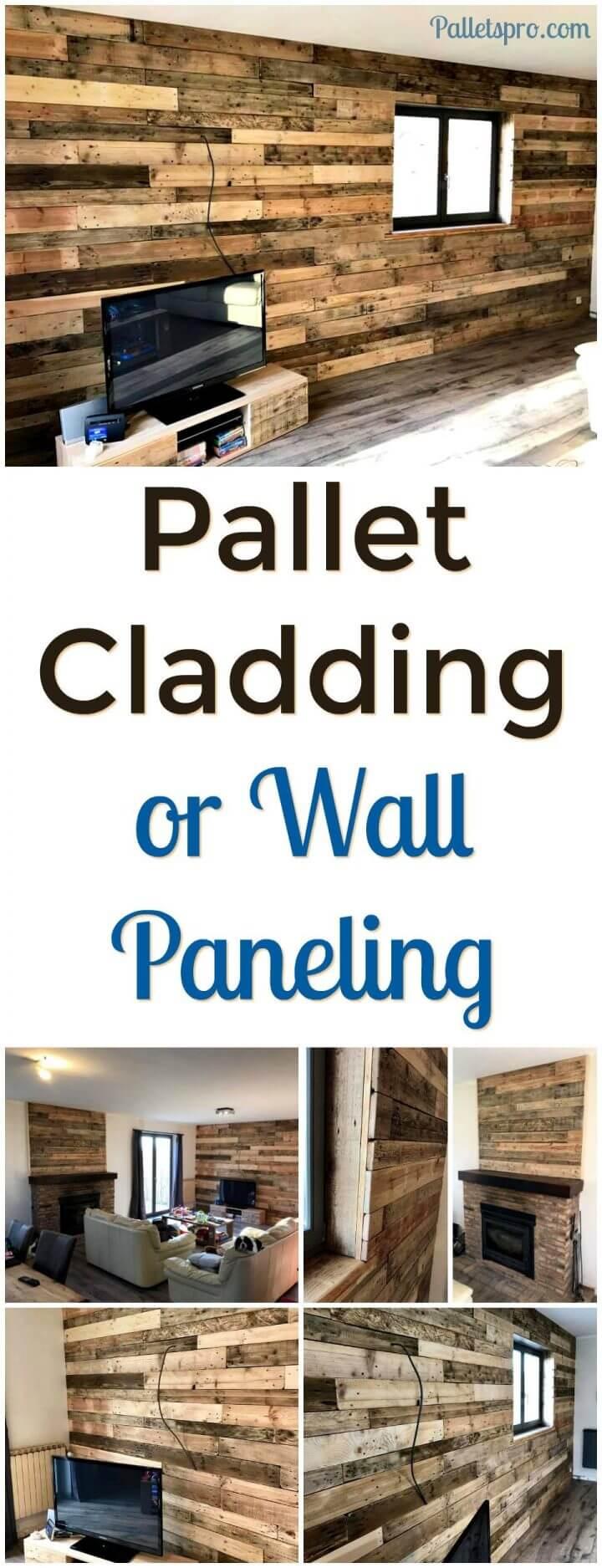 pallet wall paneling idea