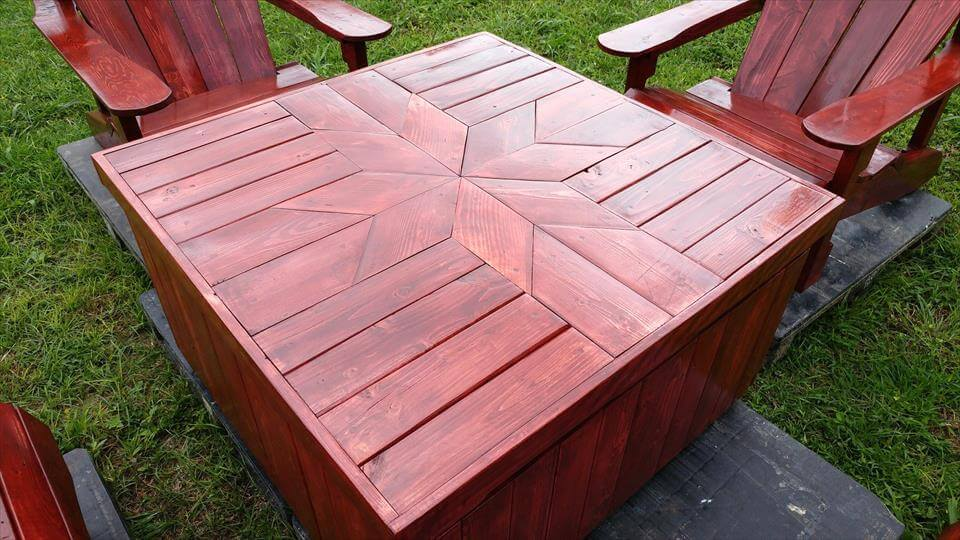 giant pallet coffee table