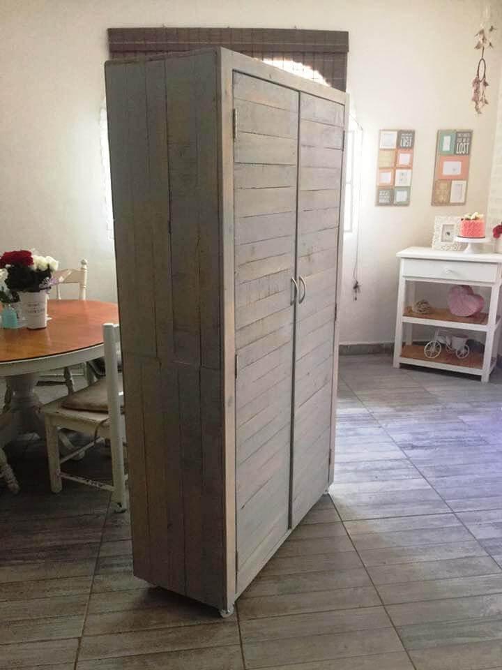 Diy Wood Pallet Cupboard Pallets Pro