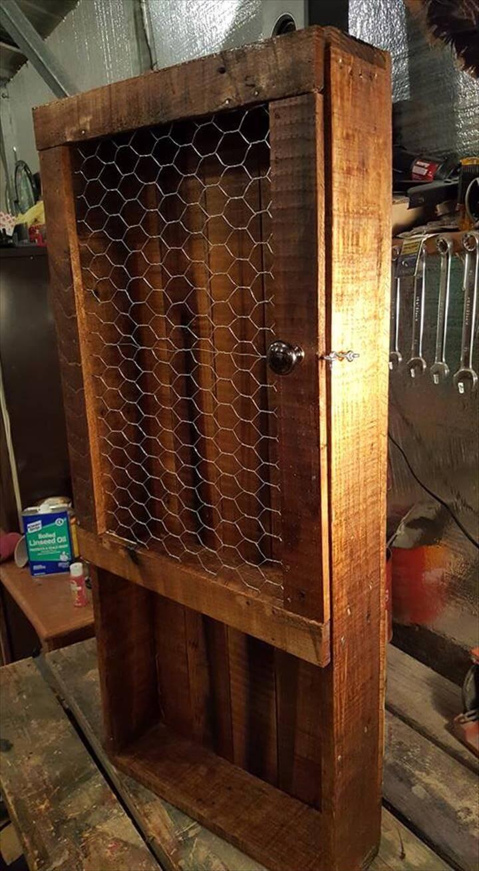 Diy pallet kitchen pantry