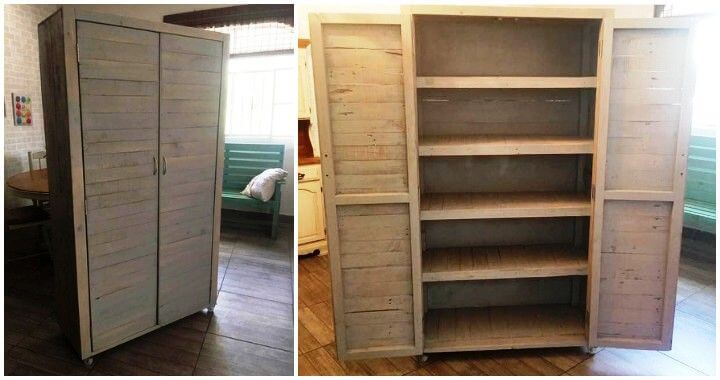 Diy Wood Pallet Cupboard Pallets Pro