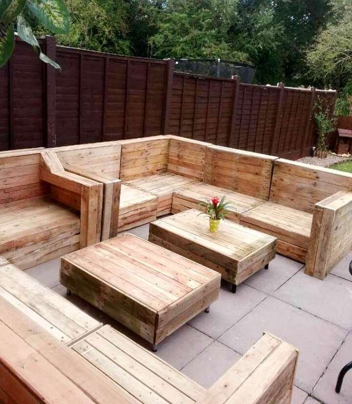 upcycled pallet beefy large sofa set