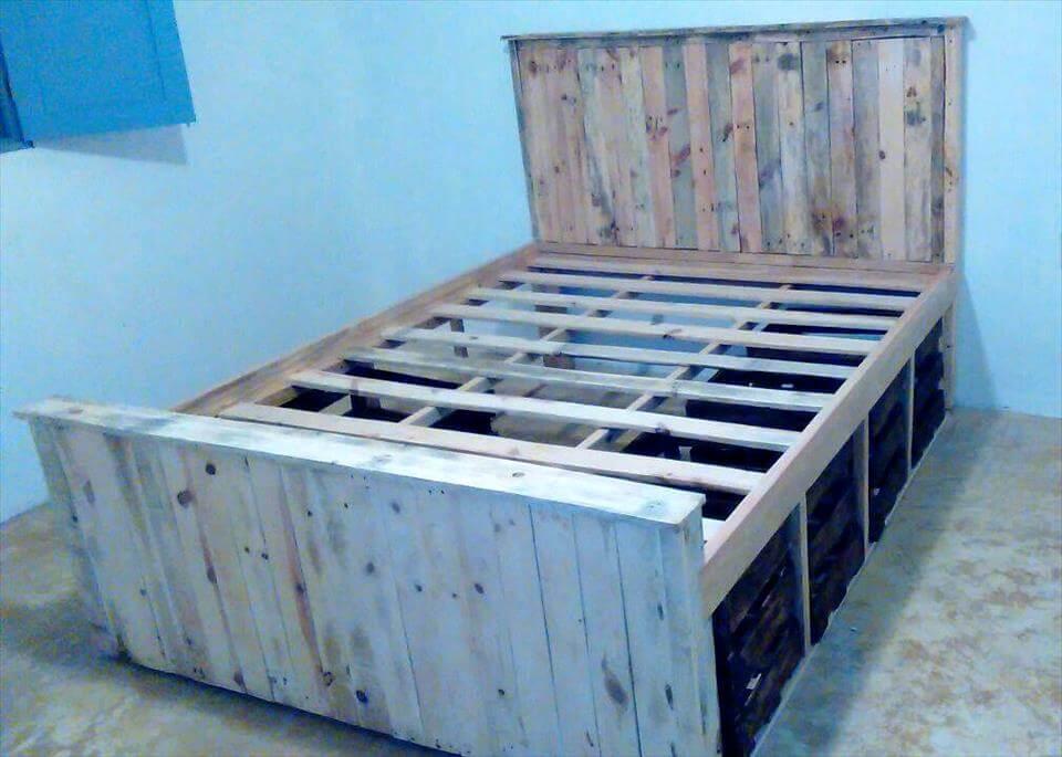 bno-cost pallet bed frame