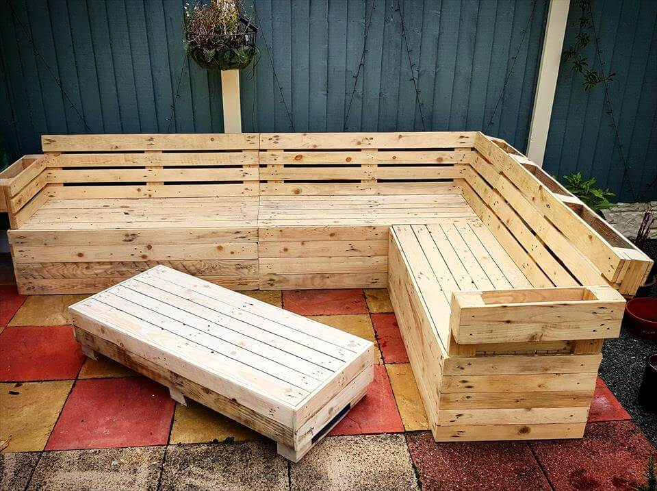 beefy pallet sectional sofa