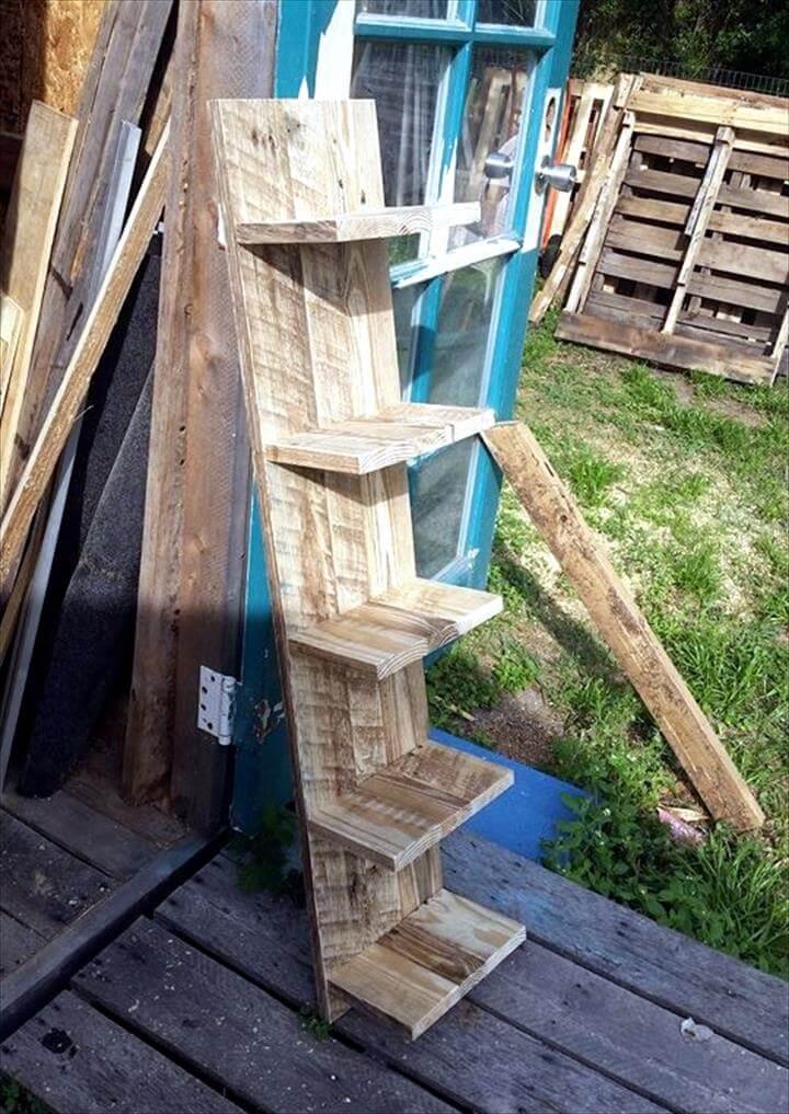 pallet shelving tower