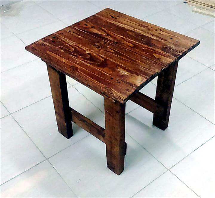 no-cost choco pallet mini table