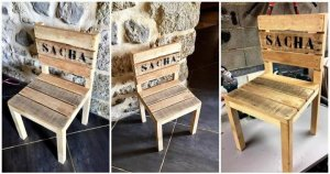 DIY Pallet Chair for Kid's