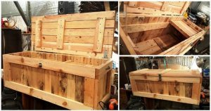 DIY Pallet Trunk - Pallet Chest