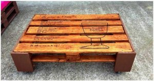 Simple and Stylish Pallet Outdoor Furniture Set