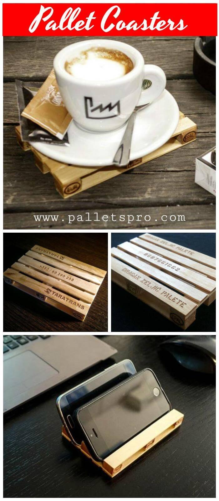 Pallet Coasters