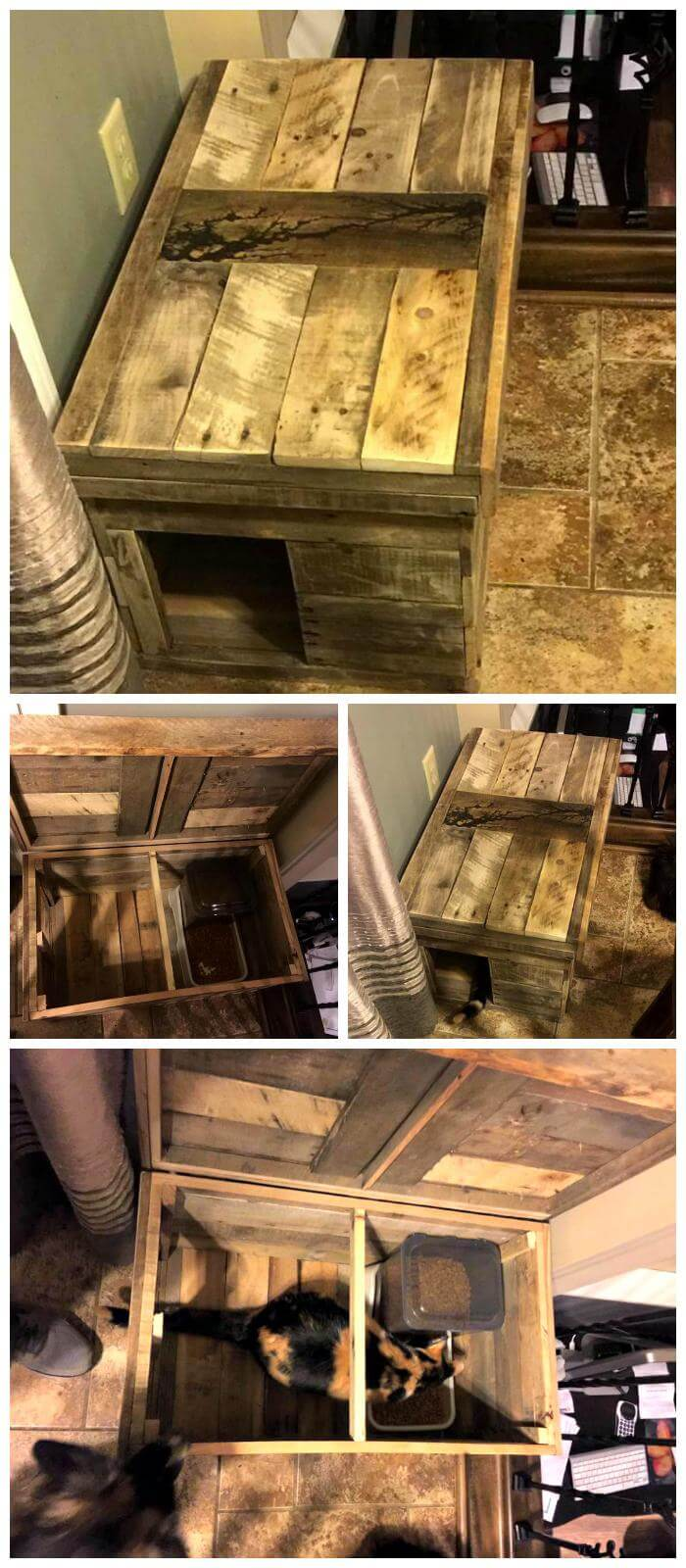 Pallet Cat House Diy Pallets Pro