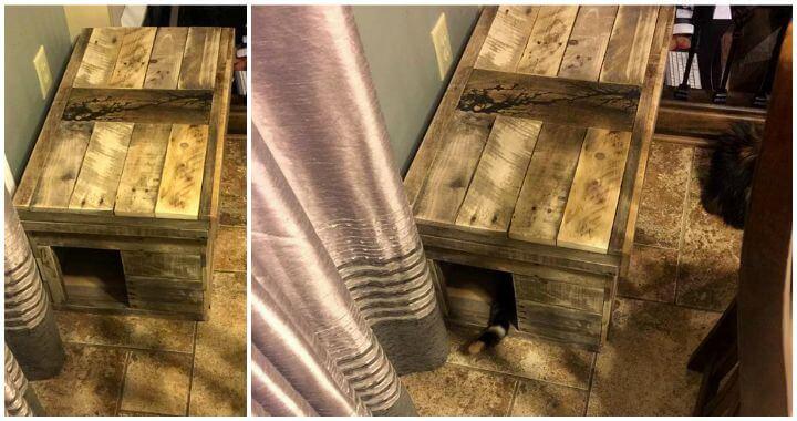 Pallet Cat House - DIY - Pallets Pro