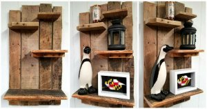 Pallet Shelf for Wall Decoration